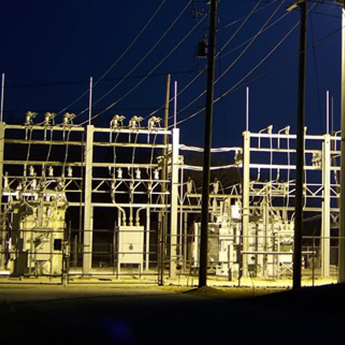 SUB-STATION STRUCTURES FOR POWER DISTRIBUTION