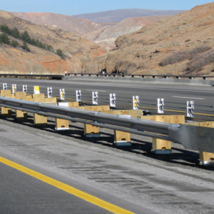 CRASH BARRIERS FOR HIGHWAYS